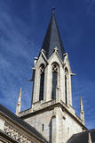 πύργος εκκλησιών κουδ&omicron Στοκ εικόνα με δικαίωμα ελεύθερης χρήσης