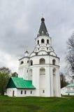 Πύργος εκκλησία-κουδουνιών Raspyatskaya σε Aleksandrovskaya Sloboda, περιοχή του Βλαντιμίρ, χρυσό δαχτυλίδι της Ρωσίας Στοκ Φωτογραφίες