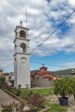 Πύργος εκκλησιών και κουδουνιών στο νησί Ammouliani, Athos, Χαλκιδική, Ελλάδα Στοκ Εικόνα
