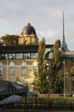 Πύργος εκκλησιών και παλαιά αρχιτεκτονική Στοκ Εικόνα