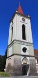 Πύργος εκκλησιών σε Blatna στοκ εικόνες