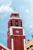 Πύργος εκκλησιών του Σαν Φρανσίσκο Στοκ Φωτογραφία