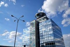 Πύργος ελέγχου εναέριας κυκλοφορίας Στοκ εικόνες με δικαίωμα ελεύθερης χρήσης