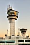 Πύργος ελέγχου εναέριας κυκλοφορίας Στοκ εικόνα με δικαίωμα ελεύθερης χρήσης