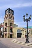 Πύργος 'Ενδείξεων ώρασ' λεωφόρων αγορών του Πεκίνου SOLANA Στοκ φωτογραφία με δικαίωμα ελεύθερης χρήσης