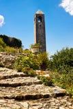 Πύργος 'Ενδείξεων ώρασ' σε Pocitelj. Στοκ Φωτογραφία