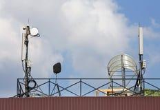 Πύργος εντολής και παρατήρησης Στοκ φωτογραφία με δικαίωμα ελεύθερης χρήσης