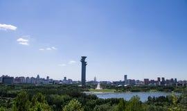 Πύργος επίσκεψης του Πεκίνου Στοκ εικόνα με δικαίωμα ελεύθερης χρήσης