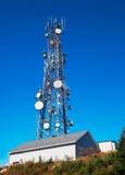 πύργος επικοινωνίας Στοκ Φωτογραφία