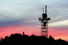 πύργος επικοινωνίας Στοκ φωτογραφίες με δικαίωμα ελεύθερης χρήσης