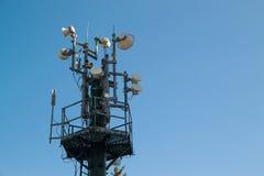 Πύργος επικοινωνίας Στοκ εικόνα με δικαίωμα ελεύθερης χρήσης