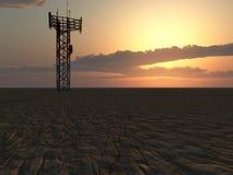 πύργος επικοινωνίας απεικόνιση αποθεμάτων