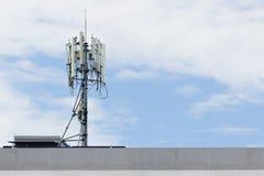 Πύργος επικοινωνιών Στοκ εικόνα με δικαίωμα ελεύθερης χρήσης