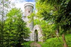 Πύργος επιφυλακής Hamelika - Marianske Lazne Marienbad - Δημοκρατία της Τσεχίας Στοκ Εικόνα