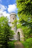 Πύργος επιφυλακής Hamelika - Marianske Lazne Marienbad - Δημοκρατία της Τσεχίας Στοκ φωτογραφίες με δικαίωμα ελεύθερης χρήσης