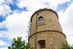 Πύργος επιφυλακής Josefs στο υποστήριγμα Klet, δάσος Blansky, Δημοκρατία της Τσεχίας Στοκ εικόνα με δικαίωμα ελεύθερης χρήσης