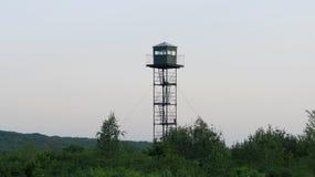 Πύργος επιφυλακής στα σύνορα χωρών Στοκ Εικόνες