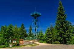 Πύργος επιφυλακής Slovanka Στοκ εικόνα με δικαίωμα ελεύθερης χρήσης