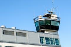 Πύργος ελέγχου λιμανιών ή λιμένων Στοκ φωτογραφία με δικαίωμα ελεύθερης χρήσης