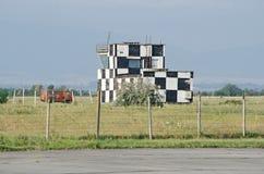 Πύργος ελέγχου στον αερολιμένα στην Κριμαία στοκ φωτογραφίες με δικαίωμα ελεύθερης χρήσης