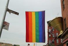 Πύργος ελευθερίας στο χαμηλότερο Μανχάταν Στοκ Φωτογραφίες