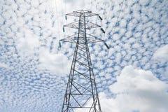 πύργος ηλεκτρικής δύναμη&sigm Στοκ Εικόνες
