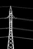 πύργος ηλεκτρικής ενέργ&epsilo διανυσματική απεικόνιση