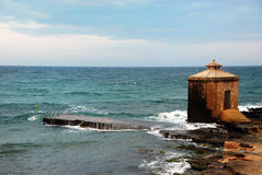 πύργος θάλασσας Στοκ εικόνες με δικαίωμα ελεύθερης χρήσης
