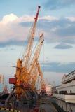 πύργος θαλάσσιων λιμένων &gamm Στοκ Εικόνες
