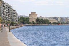Πύργος Θεσσαλονίκης Στοκ φωτογραφία με δικαίωμα ελεύθερης χρήσης