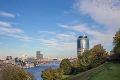Πύργος 2000, διεθνές επιχειρησιακό κέντρο της Μόσχας Στοκ Εικόνα