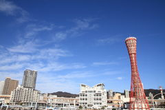 Πύργος λιμένων του Kobe στο Kobe, Hyogo Στοκ Φωτογραφίες