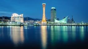 Πύργος λιμένων του Kobe του πάρκου Meriken στην πόλη του Kobe, Ιαπωνία Στοκ Εικόνες