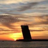 Πύργος λιμένων Στοκ φωτογραφία με δικαίωμα ελεύθερης χρήσης