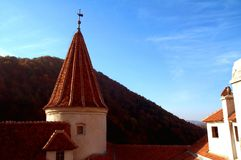 πύργος κάστρων στοκ εικόνες με δικαίωμα ελεύθερης χρήσης