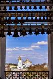 Πύργος Κίεβο Ουκρανία κουδουνιών καθεδρικών ναών του ST Sophia καθεδρικών ναών Αγίου Michael Στοκ φωτογραφία με δικαίωμα ελεύθερης χρήσης