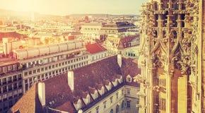 Πύργος καθεδρικών ναών της Βιέννης ST Stephen στοκ φωτογραφία με δικαίωμα ελεύθερης χρήσης