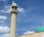 Πύργος και θόλος μουσουλμανικών τεμενών Στοκ Εικόνες