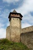 Πύργος και τοίχοι του Castle - τοπίο, τοπίο Στοκ Φωτογραφίες