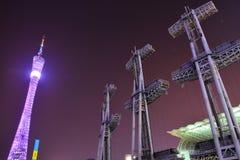 Πύργος καντονίου Στοκ φωτογραφία με δικαίωμα ελεύθερης χρήσης