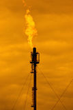 πύργος καύσης Στοκ Εικόνες
