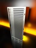 πύργος κεντρικών υπολογ απεικόνιση αποθεμάτων