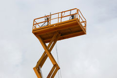 Πύργος κεραιών επικοινωνίας Στοκ φωτογραφία με δικαίωμα ελεύθερης χρήσης