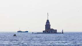 Πύργος κοριτσιών Στοκ εικόνα με δικαίωμα ελεύθερης χρήσης