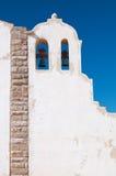 Πύργος κουδουνιών ενός μικρού πορτογαλικού παρεκκλησιού Στοκ φωτογραφίες με δικαίωμα ελεύθερης χρήσης