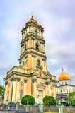 Πύργος κουδουνιών ιερού Dormition Pochayiv Lavra σε Ternopil Oblast, Ουκρανία Στοκ Εικόνες