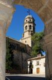 Πύργος κουδουνιών καθεδρικών ναών, Baeza, Ισπανία. Στοκ φωτογραφία με δικαίωμα ελεύθερης χρήσης