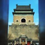 Πύργος κουδουνιών στο Πεκίνο Στοκ φωτογραφία με δικαίωμα ελεύθερης χρήσης