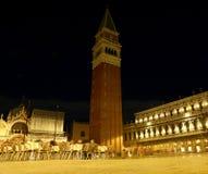 πύργος κουδουνιών της εκκλησίας του marco SAN στη Βενετία στην Ιταλία Στοκ φωτογραφία με δικαίωμα ελεύθερης χρήσης
