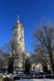Πύργος κουδουνιών του ιερού Dormition Pochayiv Lavra Στοκ φωτογραφία με δικαίωμα ελεύθερης χρήσης